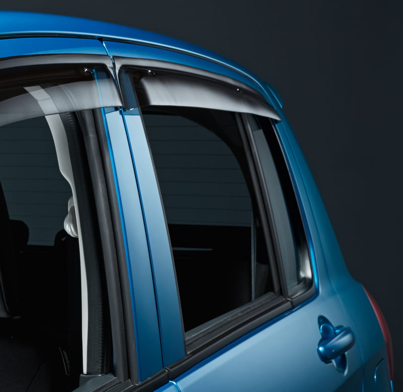 Slimline Weathershields B - Rear