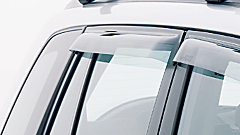 Slimline Weathershields - Rear 5 Door