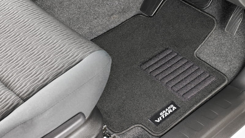 Carpet Floor Mat Set - 3 Door