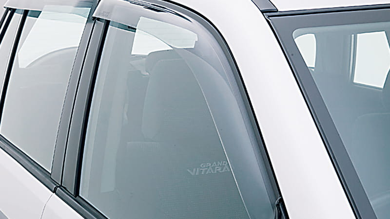Slimline Weathershields - Front 5 Door
