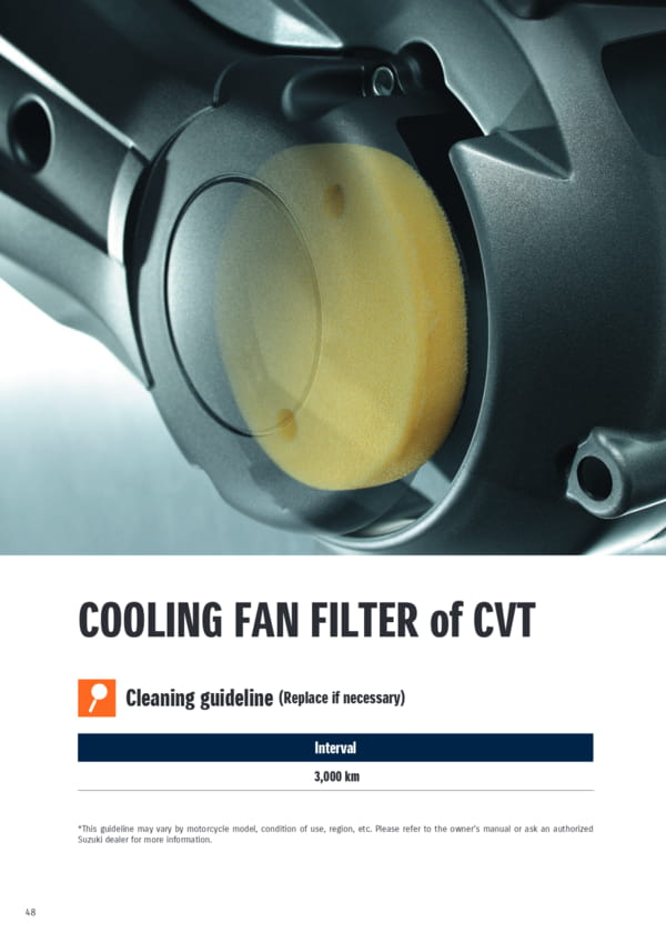 Cooling_fan_filter_of_cvt