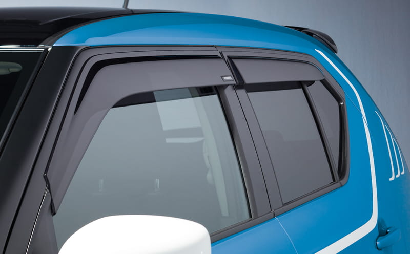 Weathershield -front & Rear