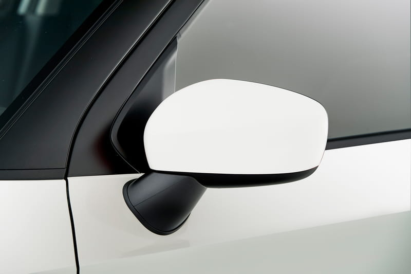 Door Mirror Covers - White