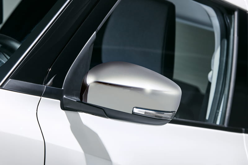 Door Mirror Cover Set - Chrome