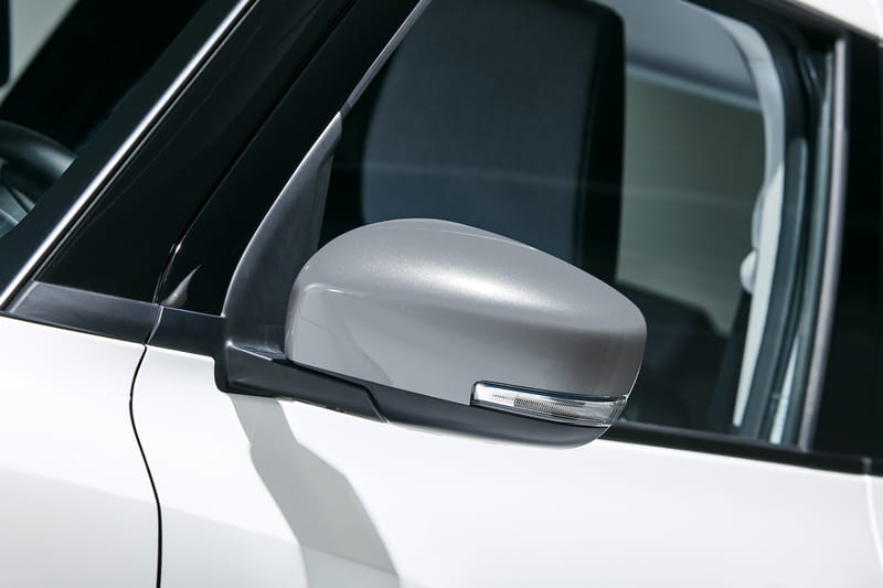 Door Mirror Covers - Grey