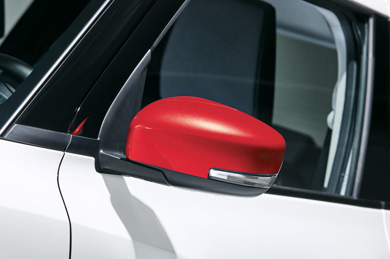 Door Mirror Covers - Red