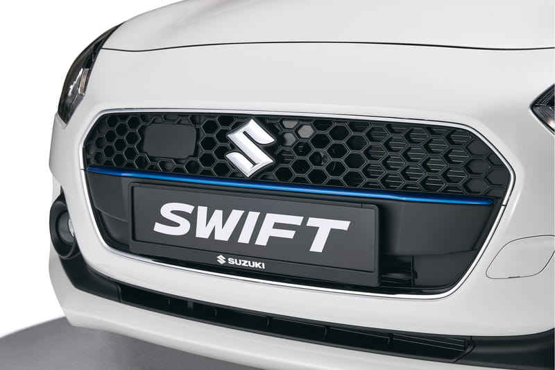 Front Grille Centre Garnish - Blue