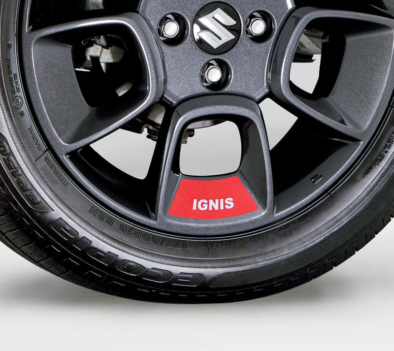 Wheel Decals - Red