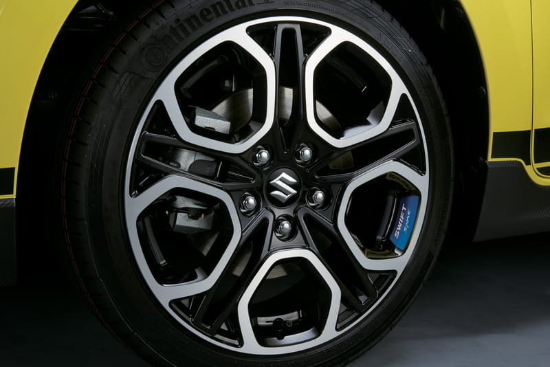 Wheel Decal - Blue