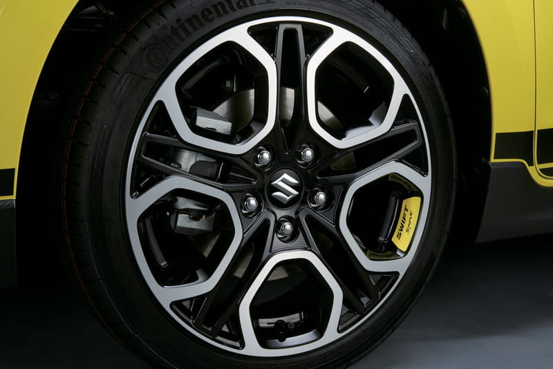Wheel Decal - Yellow