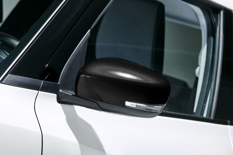 Door Mirror Covers - Black