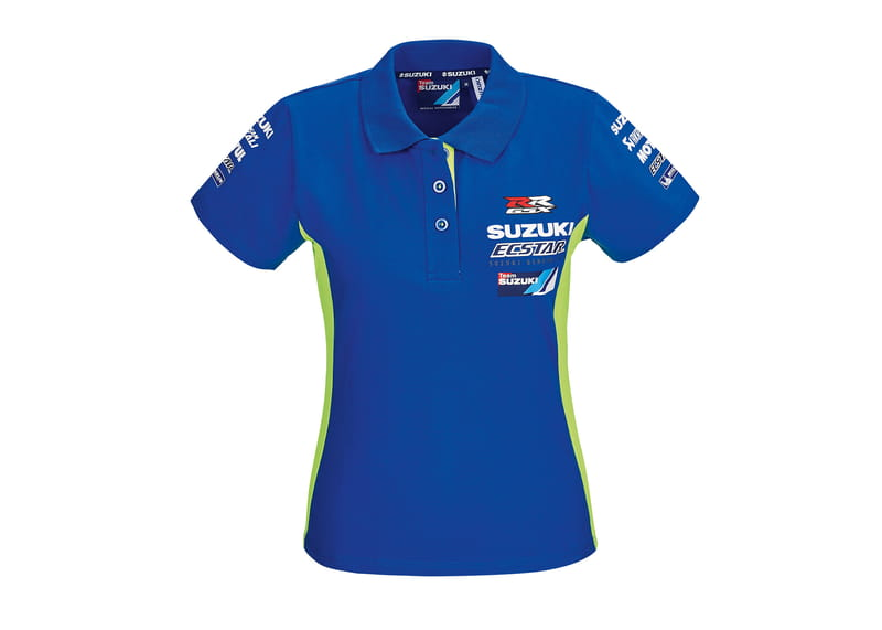 Team Suzuki Ecstar Motogp Woman's Polo Shirt