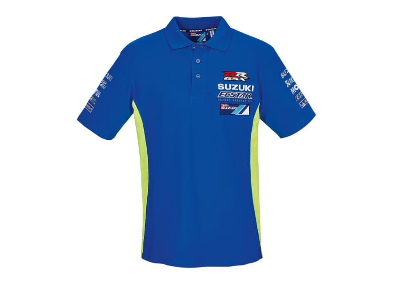 Team Suzuki Ecstar Motogp Men's Polo Shirt