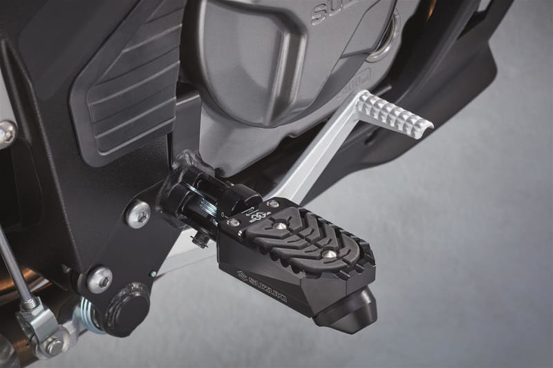 Footrest, Wider Off Road - Dl650