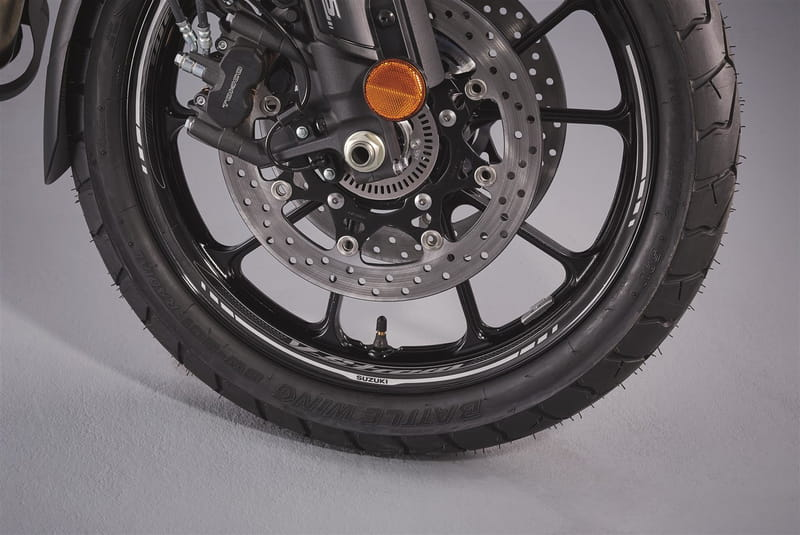 Wheel Decals, Front - Dl650