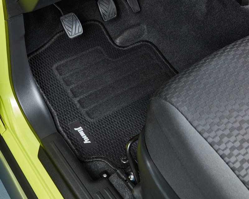 Floor Mat Set, Deluxe At