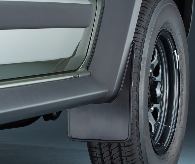 Mud Flap Set, Flexible Front
