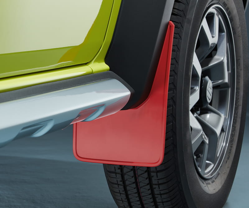 Mud Flap Set, Front Red