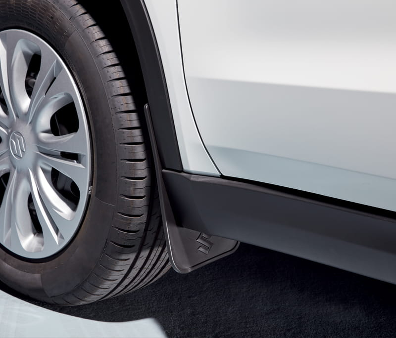 Mud Flap Set - Flexible Front