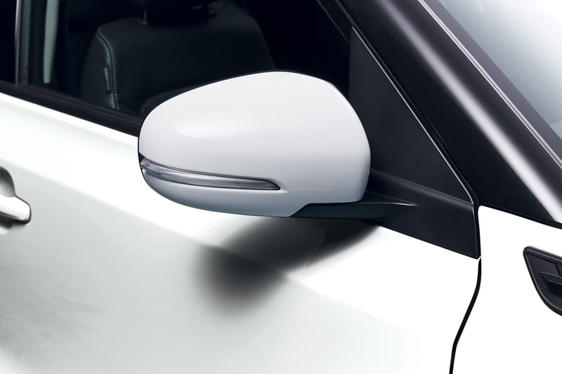 Door Mirror Cover Set - White