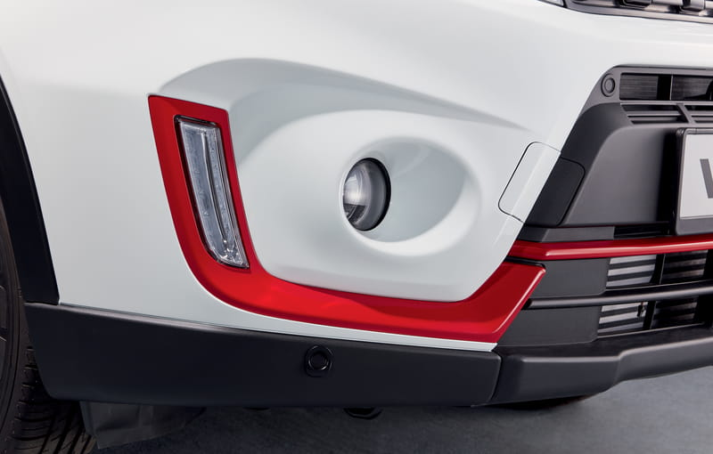 Daytime Running Lights Accent Line - Red