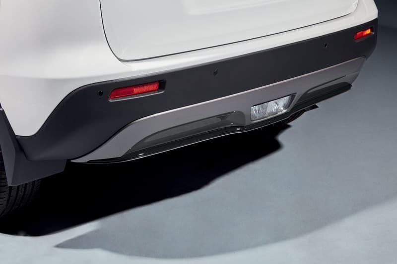 Rear Bumper Accent Line - Black