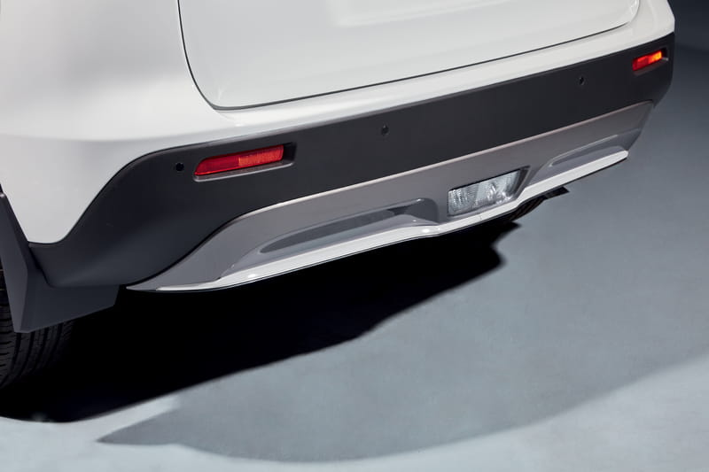 Rear Bumper Accent Line - White