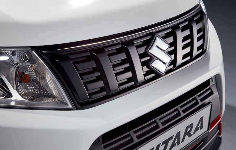 Front Grille Upper Accent Line - Black