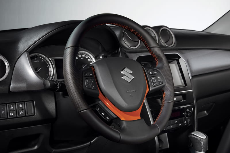 Steering Wheel - Orange