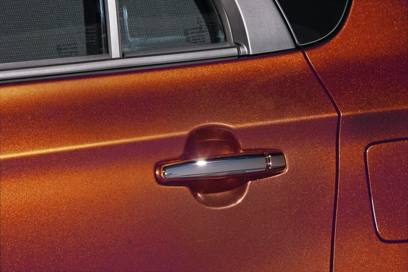 Door Handle Covers - Chrome