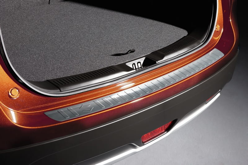 Rear Bumper Loading Protection - Aluminium