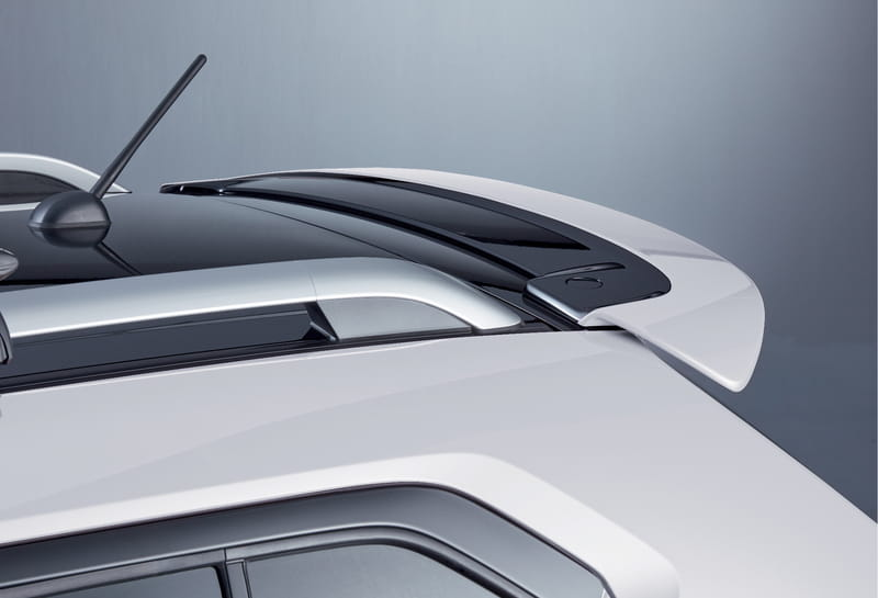 Roof Edge Spoiler - Pure White Pearl
