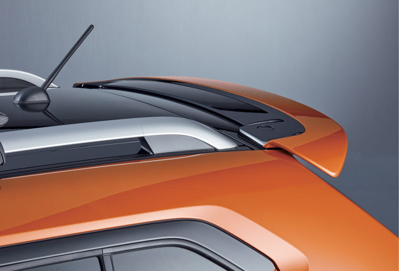 Roof Edge Spoiler - Flame Orange