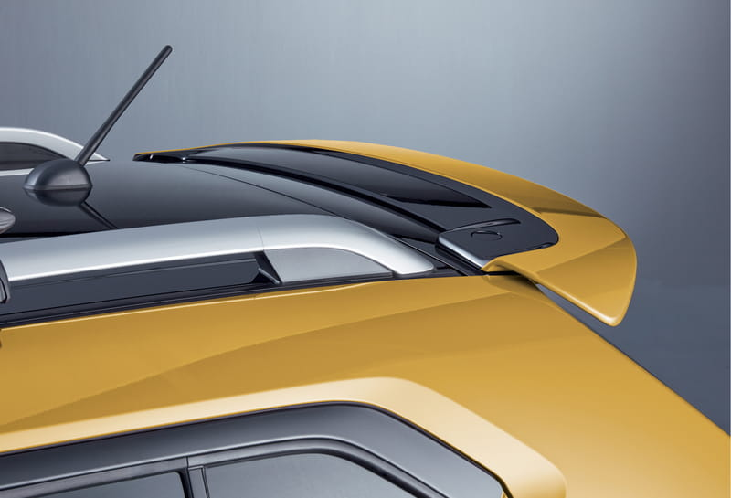 Roof Edge Spoiler - Rush Yellow