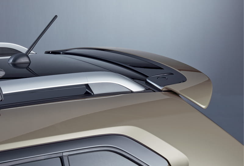 Roof Edge Spoiler - Ivory Pearl Metallic