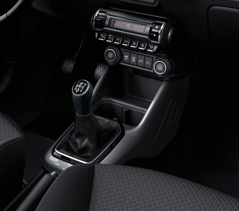 Centre Console Surround - Titanium