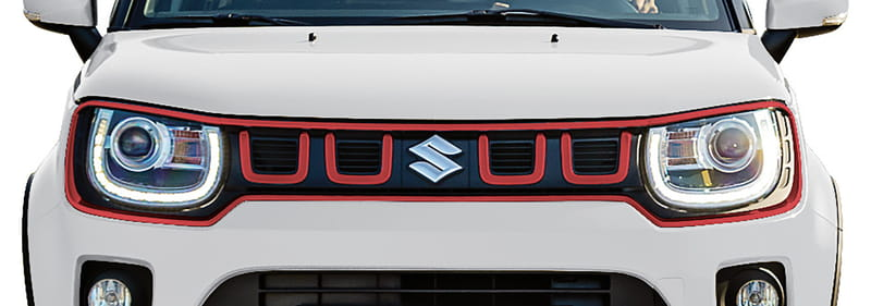 Front Grille - Red