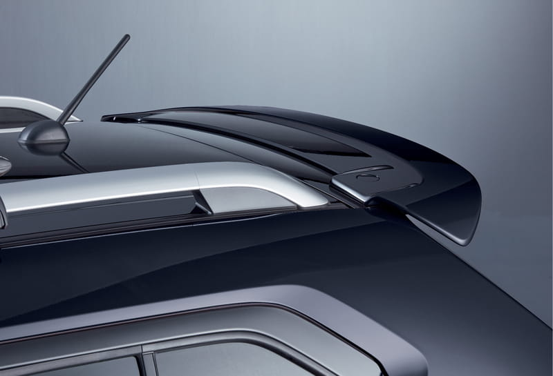 Roof Edge Spoiler - Super Black Pearl
